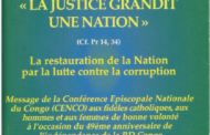 La justice gradit une nation