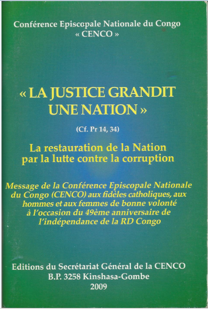 La justice gradit une nation