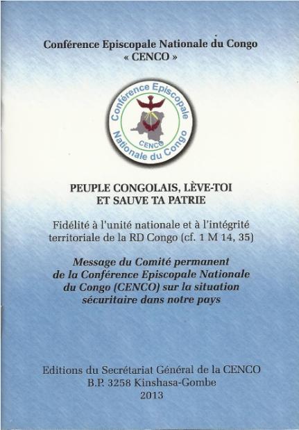 Peuple congolais lève-toi et sauve ta patrie
