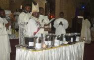 Messe chrismale à la cathédrale Notre Dame de Lingwala