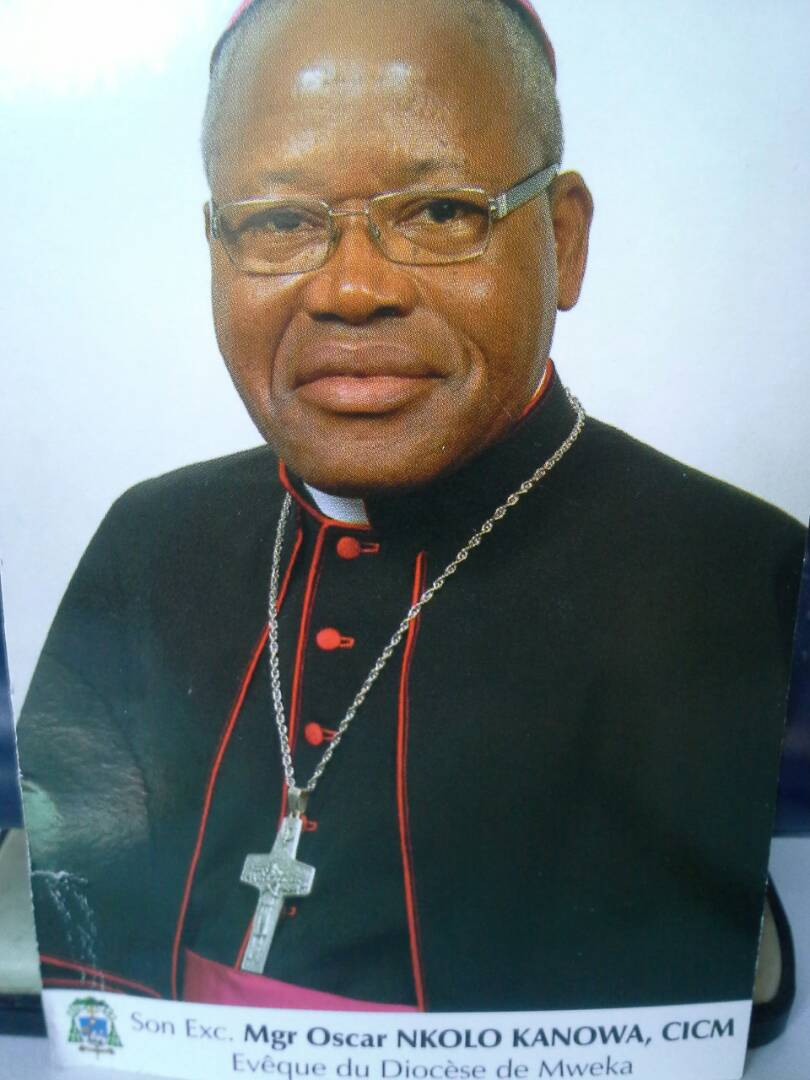 Ordination épiscopale de Mgr Oscar Nkolo, le 28 mai 2017 à Kinshasa