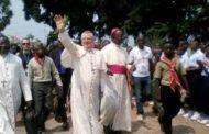 Visite pastorale du Nonce apostolique et du président de la CENCO à Kananga