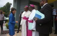 Nikki Harley a été reçue par les évêques de la CENCO