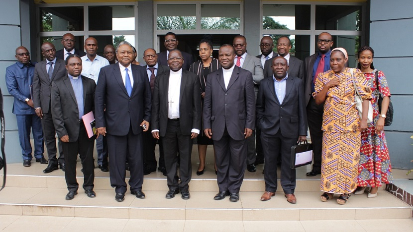 Le Président de la CENCO, SE Mgr Marcel Utembi, s'est entretenu avec la délégation de la SADEC